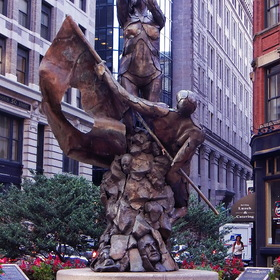 "Hungarian Revolution ""Freedom Fighters"" Memorial in Boston"