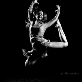 Dance for photography.